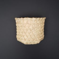 palmyra basket with black background