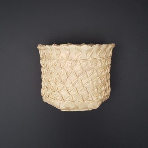 palmyra basket with black background