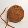 round rattan bag ronde rieten tas