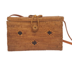kotak square rattan bag