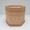 bamboo hexagon container