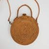 clutch 20 cm round bag