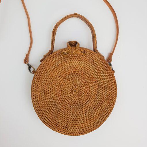 clutch 20 cm round bag