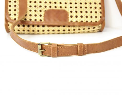 leeather strap detail