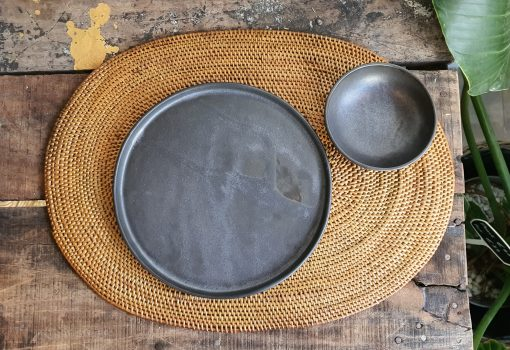 placemat and plates